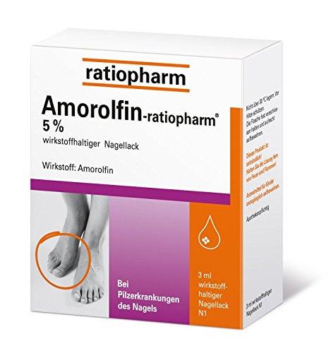 AMOROLFIN ratiopharm 5% wirkstoffhalt. Nagellack 3ml (PZN: 09199173)