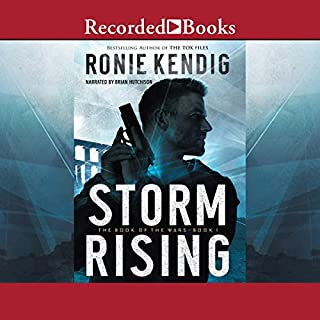 Storm Rising audiobook cover art