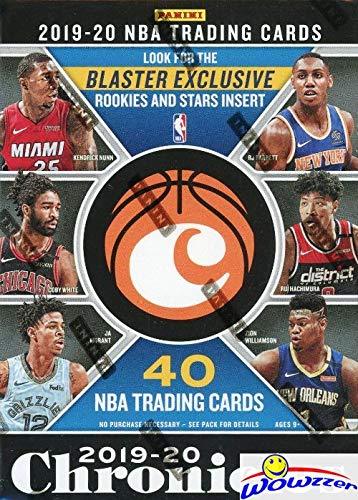 2019/20 Panini Chronicles NBA Basketball EXCLUSIVE Factory Sealed Blaster Box with (10) HOLO BOARD & OPTI-CHROME ! Look for Rookie & Autos of ZION WILLIAMSON, Ja Morant, RJ Barrett & More! WOWZZER!