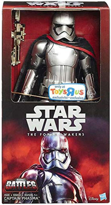 Star Wars Captian Phasma Figur 30 cm bewegliche Sammelfigur aus Star Wars das Erwachen der Macht