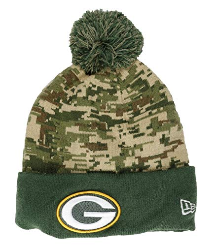 New Era Green Bay Packers Beanie NFL Digi Camo Knit Camouflage/Green - One-Size