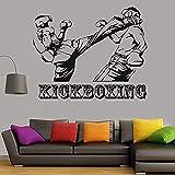 Pegatinas De Pared Taekwondo Frame Sports Wall Decal Taekwondo Hall Decoración...
