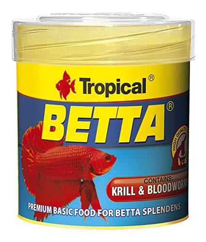TROPICAL Betta Nourriture pour Aquariophilie 50 ML