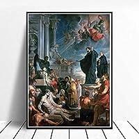 ピーターポールルーベンス宗教絵画アートポスタープリントクラシックな家の装飾リビングルームの壁の写真廊下の壁の装飾Hdキャンバス40x60cmフレームレス