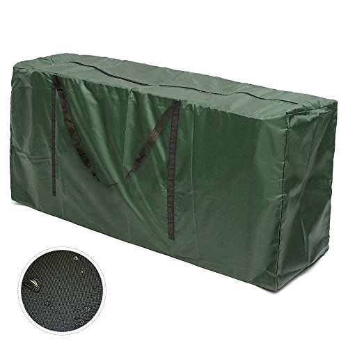 Iraza Tragetasche für Gartenauflagen Gartenmöbelauflagen Aufbewahrungstasche für Polsterauflagen Auflagen Kissen (116x51x47)