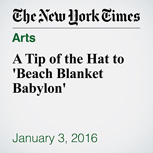 A Tip of the Hat to 'Beach Blanket Babylon' audiobook cover art