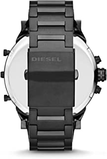 Diesel Mr Daddy 2.0 Dz7312 Xxl Analog for Male, Black/Rose Gold