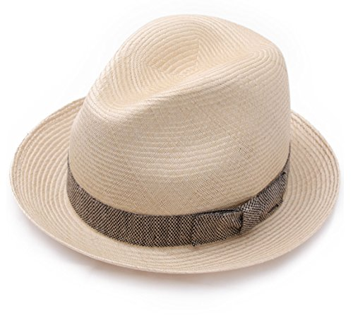 Bailey of Hollywood - Chapeau Trilby Paille Homme Meeker - Taille M