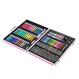 SALUTUYA Inspiration Art Set Juego de Pintura artística de 150 Piezas, Kit de bolígrafo de Acuarela para niños