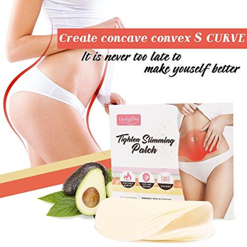 Luckyfine 5 Pezzi Slim Patch Stringere Patch Dimagrante Wonder Patch Weight Loss Bruciagrassi E Rimozione Di Cellulite Naturale Ingredienti
