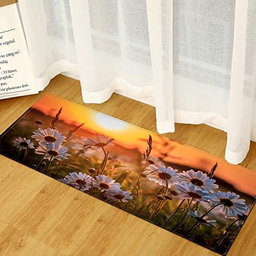 OPLJ Slaapkamer Keuken Tapijt Home Entree Deurmat Decoratie Woonkamer Vloerkleed Hal Balkon Anti-Slip Badmat A3 50x160cm