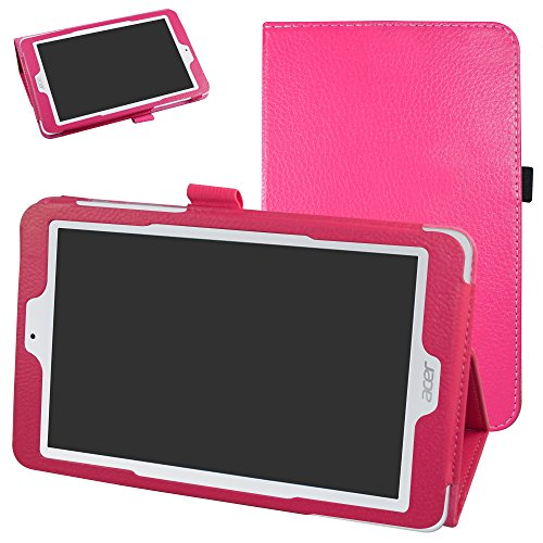 Acer Iconia One 8 B1-850 hülle,Mama Mouth Folding Ständer Hülle Case mit Standfunktion für 8
