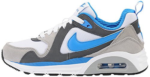 Nike Air Max Trax (GS) Herren Sneaker, Herren, Air Max Trax (Gs), Grigio/Blu/Bianco