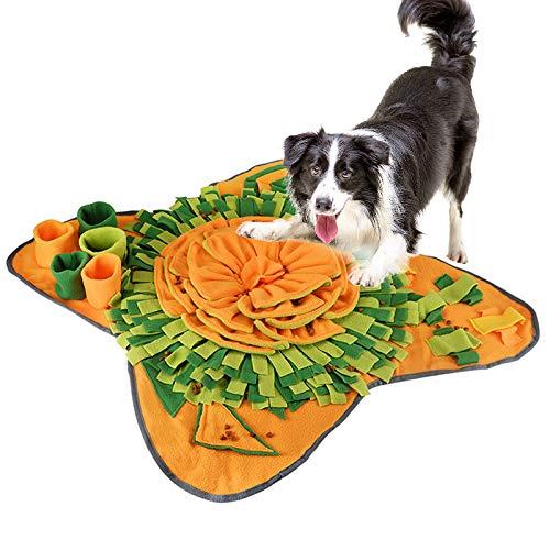 EONAZE Tappetino Olfattivo Cane Lavabile, Sniffing Tappeto per Cani, Giochi per Cani Interattivi, Giocattolo di Intelligenza per Giochi attivazione mentale Cane (A01)