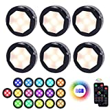 Best Puck Lights - Led Puck Lights with Remote Control, UYICOO Wireless Review