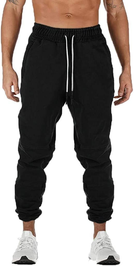Forthery-Men Sports Joggers Pants Athletic Sweatpants Gym Ranking latest TOP11 Workou