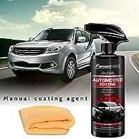 自動車用ナノコーティング液セラミックスプレーコーティング車用ポリッシュスプレーシーラントトップコートクイックナノコーティング500ML車用スプレーワックス