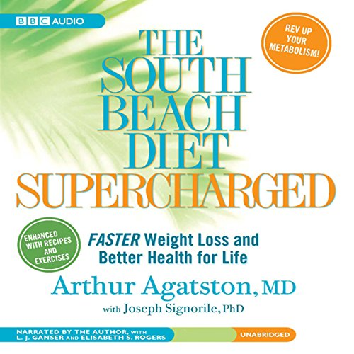 The South Beach Diet Supercharged cover art