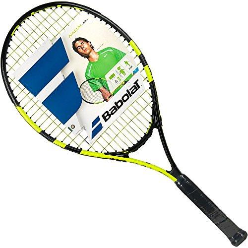 Babolat 140179-142 Nadal Junior 26 - Pala de tenis de aluminio