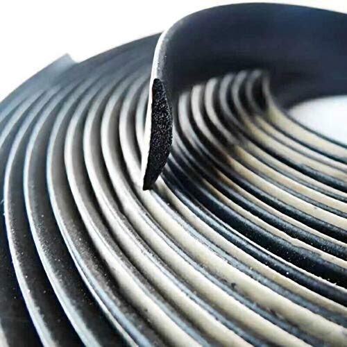 WSWJ Junta De Goma 5M Aislamiento del Ruido Tira De Guarnición For El Llenado del Parabrisas Brecha Salpicadero De Un Coche Brecha De Aislamiento Techo Solar Parabrisas De Automóviles