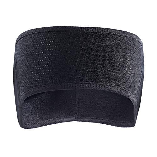 TAGVO Fleece Ear Warmers Headband , Cache-Oreilles léger et Chaud, Couverture complète, Sports d'hiver Bandeaux de Jogging pour Adultes Hommes Femmes - Taille Non ajustée et Confortable