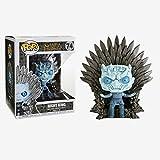 tian tian baby Game of Thrones - Night King Throne Version Adornos en Caja Juego de Tronos Regalos Figura de colección 10CM