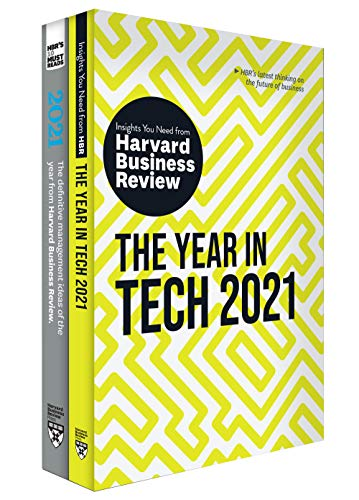 Best Business Books 2021 Amazon.com: HBR's Year in Business and Technology: 2021 (2 Books