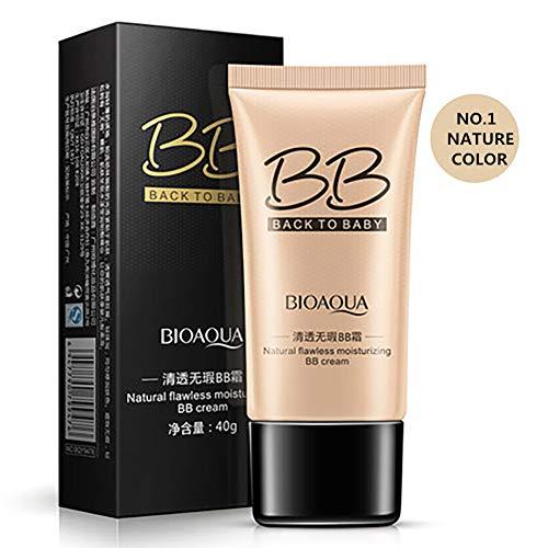 1 STÜCK Getönte Feuchtigkeitscreme Bb Creme Gesichts Make-Up Feuchtigkeitsspendende Anti-Aging Bb Creme Für Licht Zu Mittlere Haut Töne (Natural Beige)
