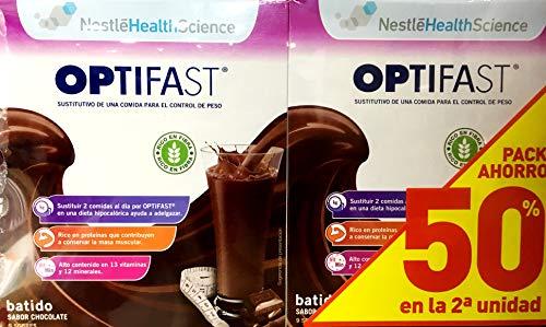 Optifast Batido Chocolate Duplo 24 Sobres