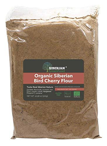Organic Siberian Bird Cherry Powder (Flour), Gluten free,...