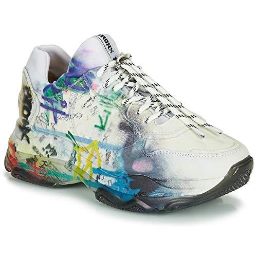 BRONX BAISLEY Sneakers dames Wit Lage sneakers