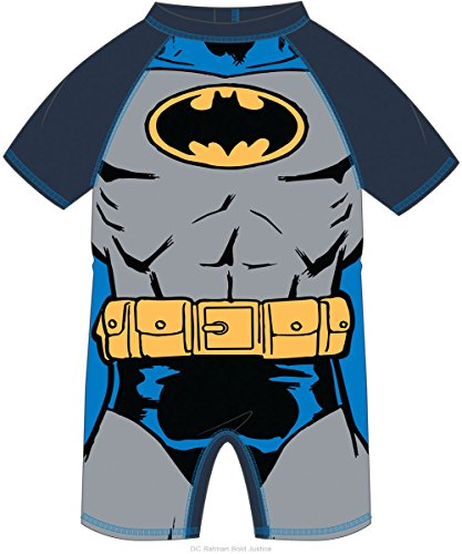 NAME IT Baby UV Schutz Badeanzug Superheld (92, Batman)