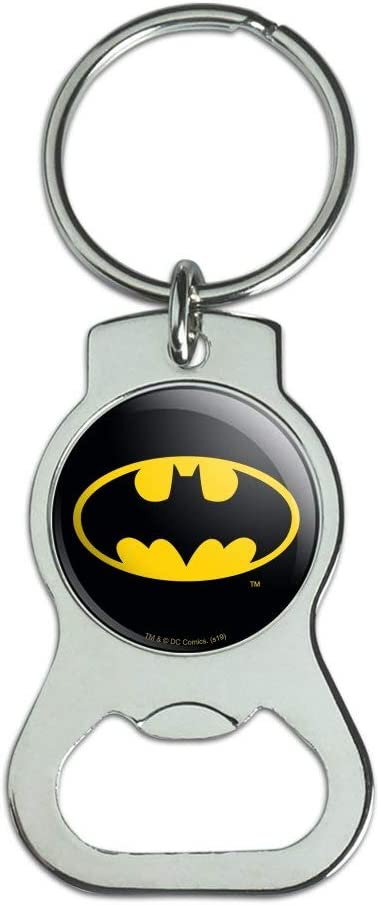 Fixed price for sale Graphics and More Batman Classic Bat Keychain with Logo Direct sale of manufacturer Shield B