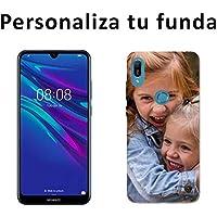 Mookase Funda Carcasa Gel Personalizada para Huawei (Y6 2019, Gel Flexible)