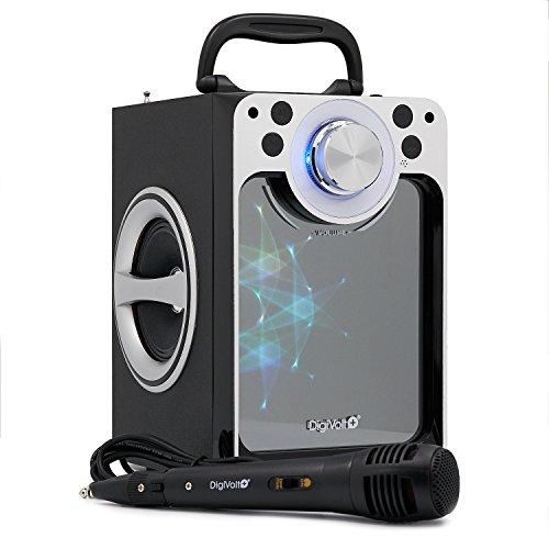 Karaoke DigiVolt HIFI-30 by MovilCom | Altavoz Bluetooth Reproductor mp3 Reproductor Multimedia...