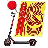 Electrico Scooter Reflectante Sticker Impermeable Pegatina, Patinete Accesorios de ProteccióN de Seguridad Nocturna de Advertencia de PVC Para Xiaomi Mijia Mi365 1s M365 Pro 2 Accesorios
