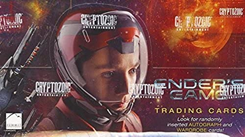 envío gratis 2014 Ender's Ender's Ender's Game Factory Sealed Trading Card Box with Autograph by Cryptozoic  mejor reputación