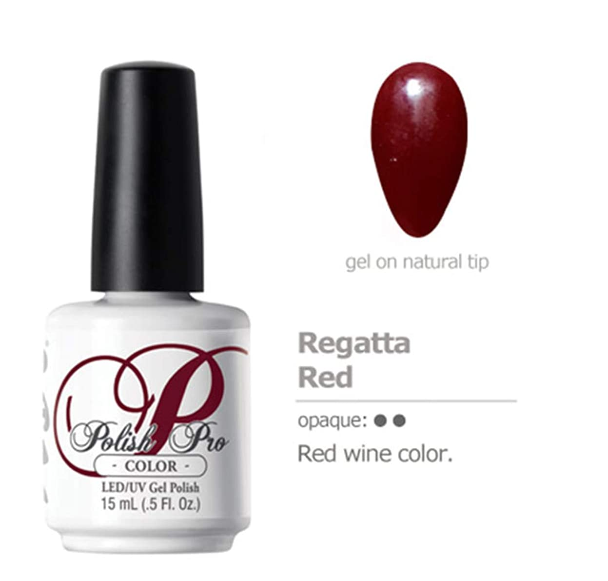 偽装する寄稿者投資NSI Polish Pro Gel Polish - Regatta Red - 0.5oz / 15ml