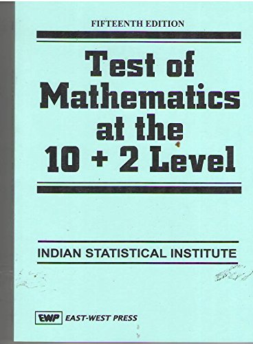 Test of Mathematics at the 10+2 Level, 15th edition