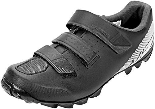 SHIMANO SHME2PG410SL00 - Zapatillas Ciclismo, 41, Negro - Blanco, Hombre