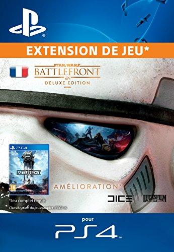 Star Wars Battlefront Deluxe Upgrade [Extension De Jeu] [Code Jeu PSN PS4 - Compte français]