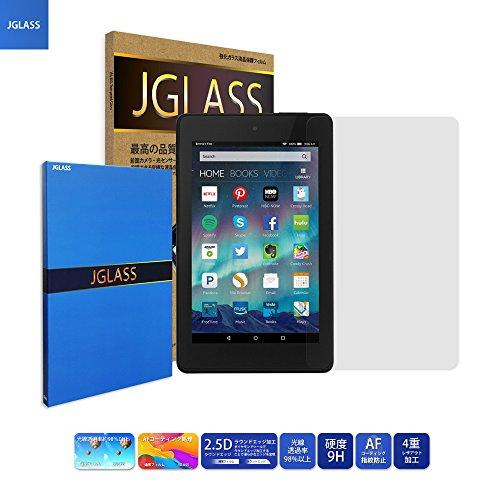 ジェイグラス JGLASS 日本旭硝子 Fire HD 6 強化ガラス 液晶保護ガラス 0.23mm ファイアタブレット HD6 保護フィルム