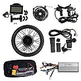 Vogvigo, kit di conversione per ruota anteriore per bicicletta elettrica, mozzo di conversione, con display LCD da 26', Uomo, 48V-1500W