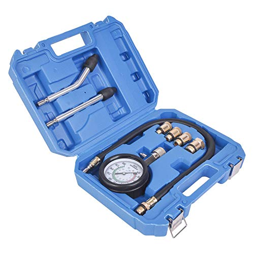 Affordable WINTOOLS 8 PCS Petrol Engine Cylinder Compression Tester Kit Automotive Tool Gauge
