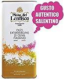 5 litri - Olio extravergine di oliva OGLIAROLA SALENTINA - 100% italiano - olio evo ottimo fruttato gusto AUTENTICO
