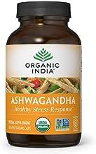 Organic India Ashwagandha Herbal Supplement - Stress Response Support, Vegan, Gluten-Free, Kosher, USDA Certified Organic,...