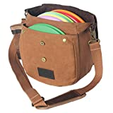 Disc Living Disc Golf Bag | Frisbee Golf Bag | Waxed Canvas Fits