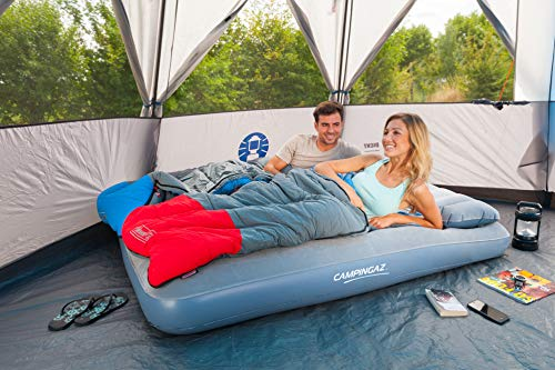 Campingaz Smart Quickbed - Double Colchón Inflable, Azul, 135 x 200 cm