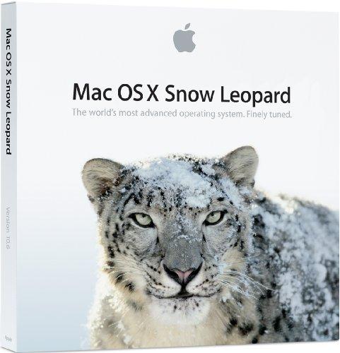 Apple Mac OS X 10.6.3 Snow Leopard, Upg, EN