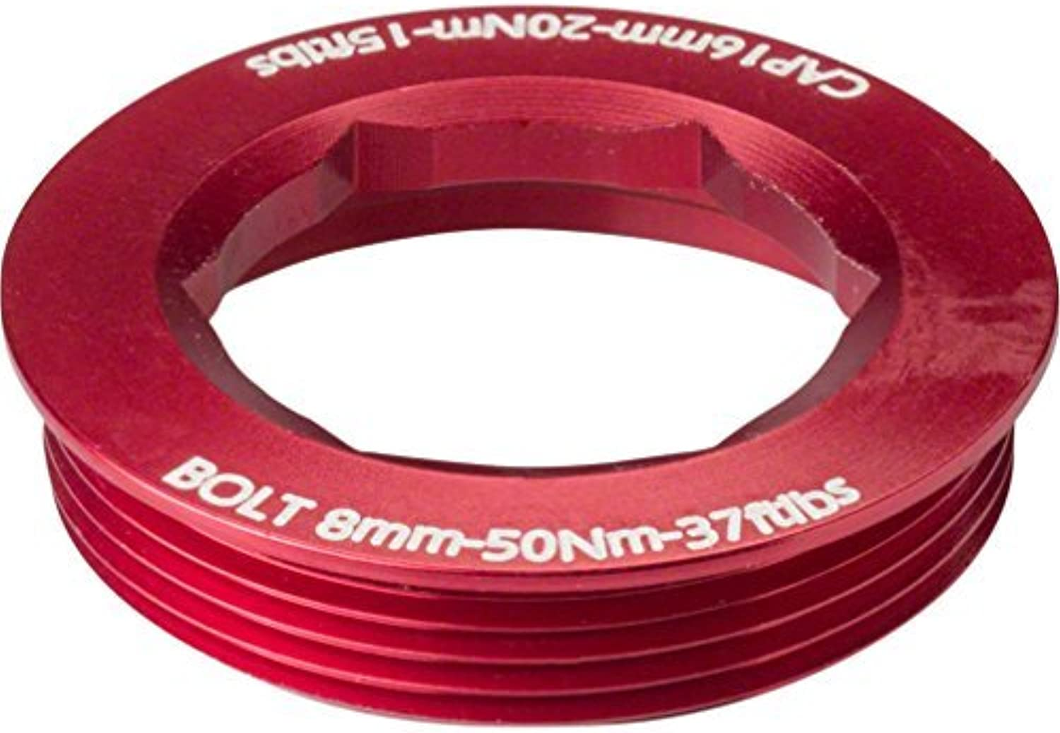 RaceFace CINCH Puller Cap with Washer 18mm XC AM Red by RaceFace
